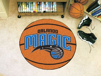 The Orlando Magic Basketball Mat by FanMats