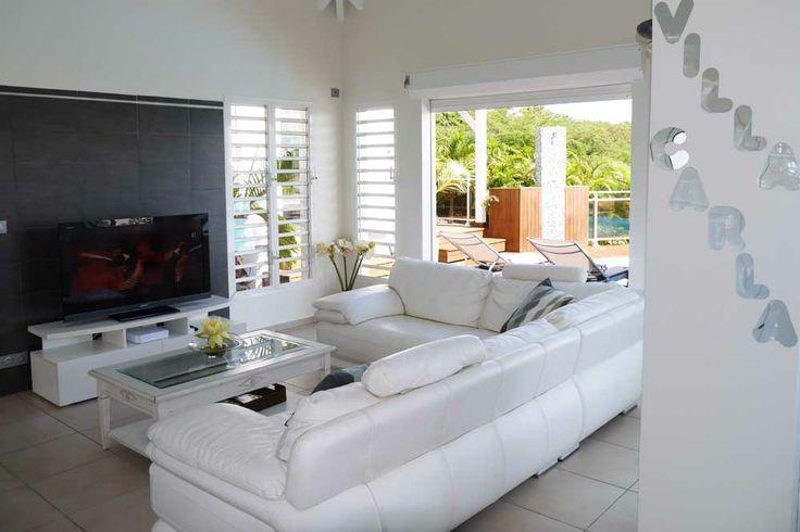 #Location #Guadeloupe - Salon.