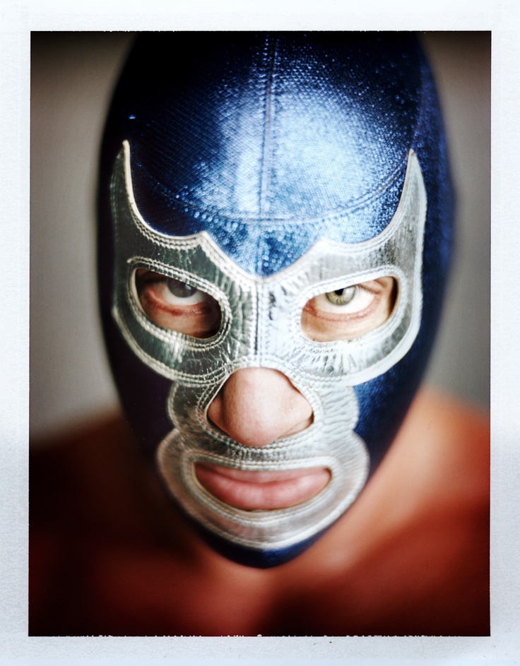 Blue Demon Jr. (Produced in Mexico in association with photographer Mark Mann)Demonios Azul, Masks, Lucha Libre Blue Demon, Blue Demon Lucha Libre, Blue Demons, Mark Mann, Artstar Com, Demons Jr, La Lucha