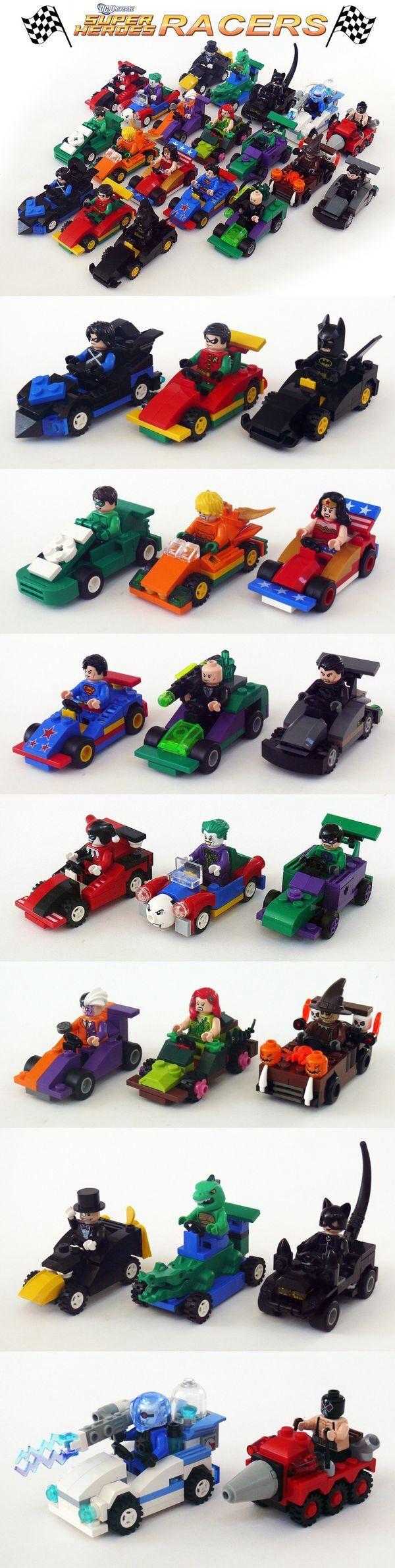 Lego super heroes cars