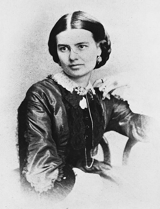 Ellen Lewis Herndon Arthur - wife of Pres. Chester Arthur - Their marriage was a little strained because she was loyalties to the Confederacy, while her husband was not. They had 3 children (one son died at the age of 3) -  another son and a daughter lived to adulthood. In January, 1880, Ellen caught a cold & quickley developed pneumonia. She died 2 days later at 42.