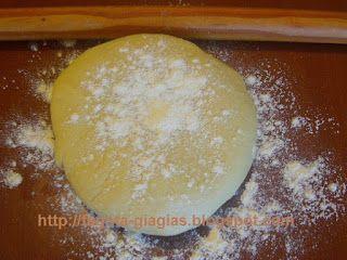 Τα φαγητά της γιαγιάς - Φύλλο χωριάτικο για πίτες - βασική συνταγή