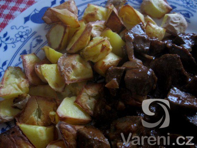 Recept Nejlepší játra - Omáčka má moc dobrou chuť!......http://recepty.vareni.cz/nejlepsi-jatra/