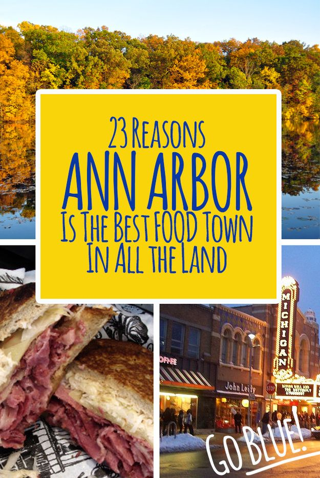 23 Reasons Ann Arbor Is The Best Food Town In All The Land | Bestie is from Ann Arbor, I told him I have self-invited for his next trip home. IT'S GOING TO BE GREAT GETTING SO FAT!