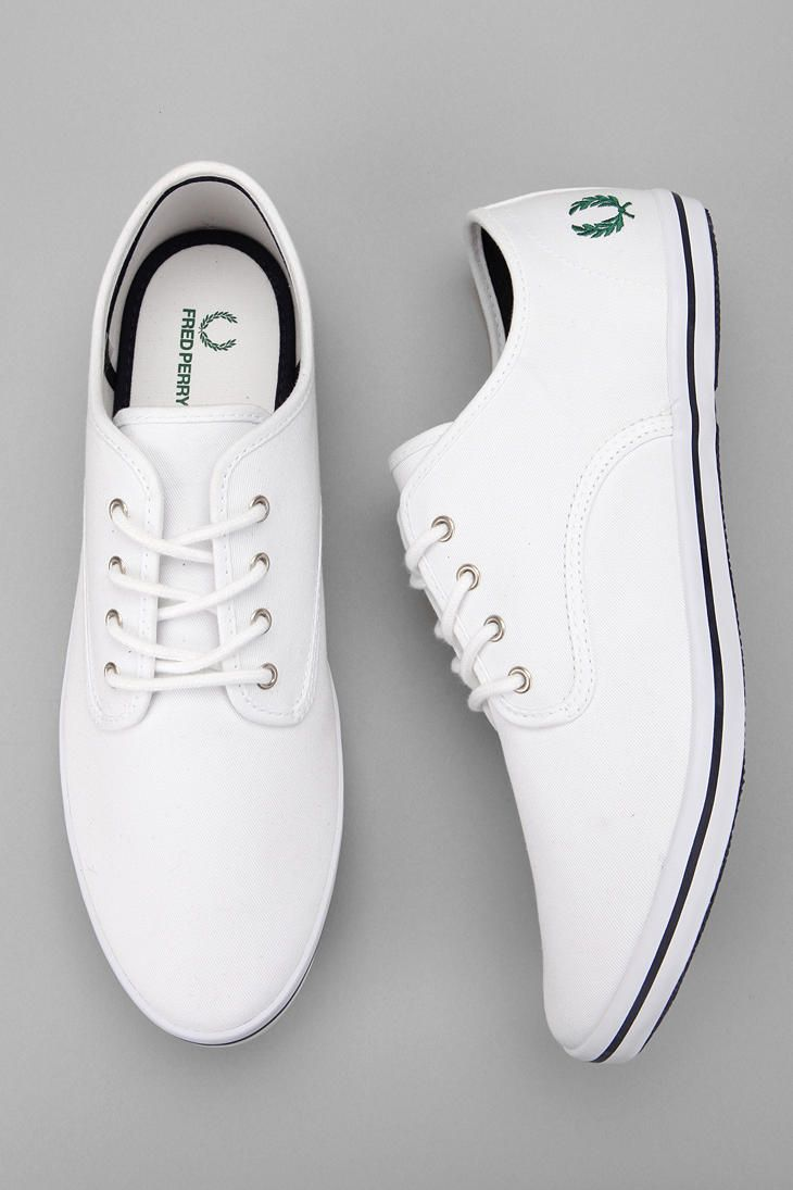 Fred Perry Foxx Twill Sneaker - http://www.mainlinemenswear.co.uk/section.php?xSec=387