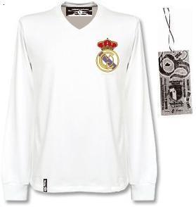 Real Madrid Playera Retro 1970 manga larga