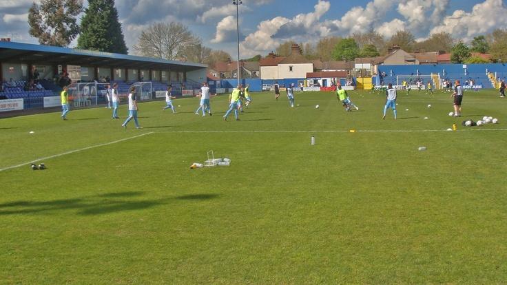 Grays Athletic FC,   New Recreation Ground,  26/04/2009