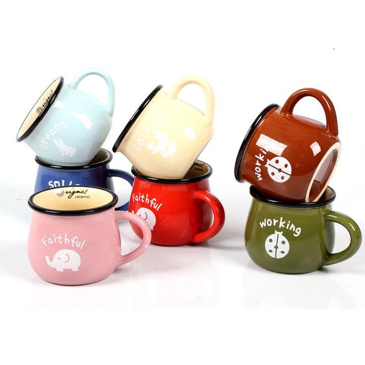 Aliexpress.com : Buy Send Cup Mat Creative Zakka Retro Imitation ...