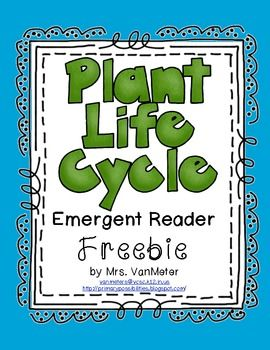 Here is an emergent reader text to teach the concept of the life cycle of a plant.