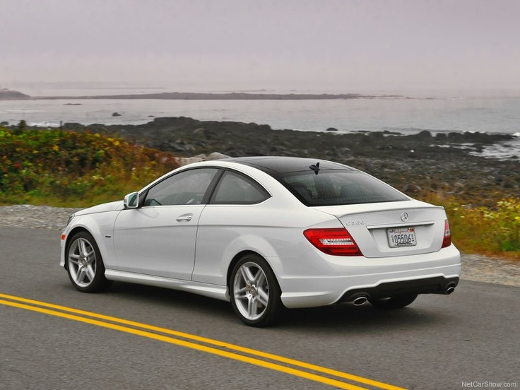 23 best images about Mercedes CClass Coupe on Pinterest