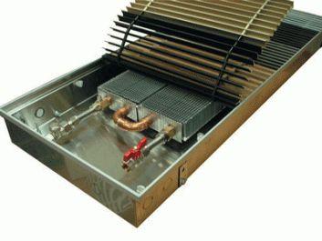 Конвекторы внутрипольно отопления EVA COIL - KG80 Конвектор встраиваемый в пол Артикул: нет Конвектор встраиваемый в пол EVA COIL - KG80 с естественной конвекцие, без вентилятора, решетка анодированная (серебристая). Гарантия производителя.