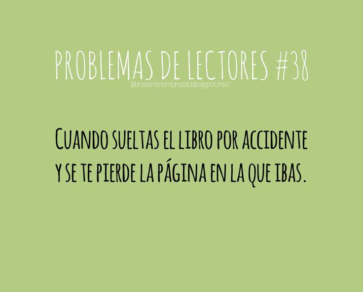 PROBLEMAS DE LECTORES #38 Cuando sueltas el libro por accidente y se te pierde la página en la que ibas