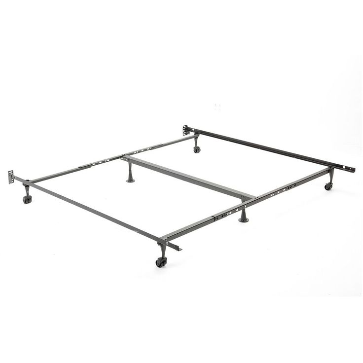 52 Series Metal Adjustable Bed Frame - Queen/King/Cal. King, Multicolor
