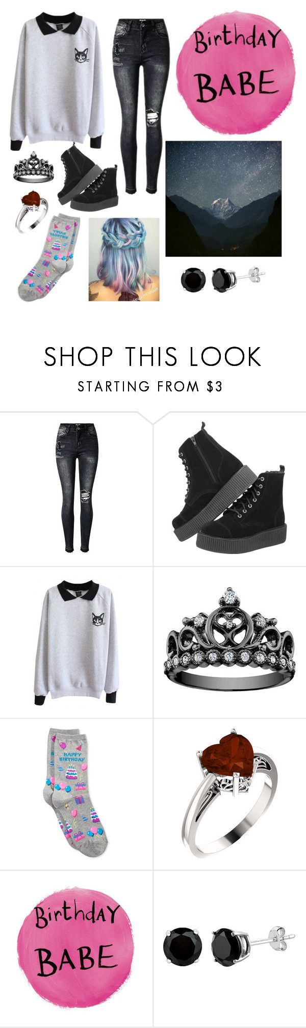 """""""hey guess what today's my birthday"""" by cassidy2928 ❤ liked on Polyvore featuring HOT SOX"""