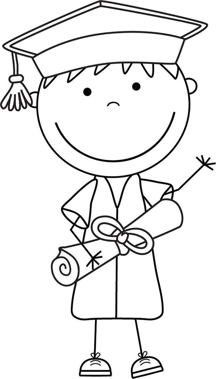 Cute Graduation Coloring Pages Classroom Art Projects Art Drawings For Kids Coloring Pages [ 1226 x 700 Pixel ]