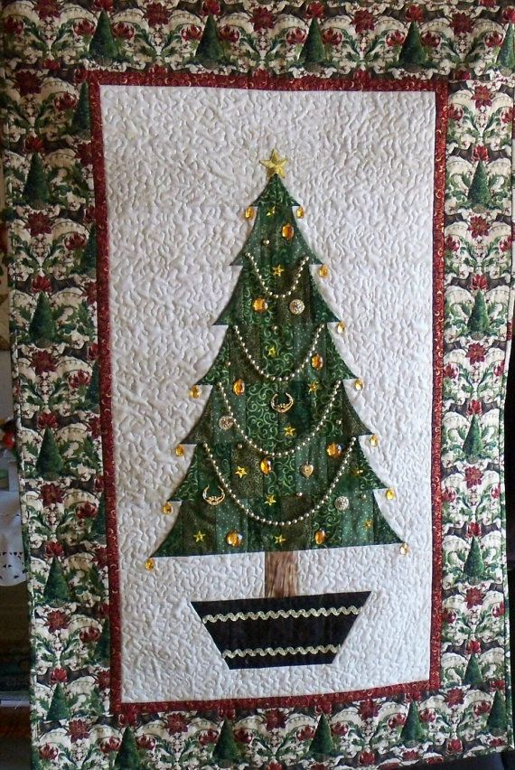 Pdf Quilt Pattern Christmas Tree By Anniesquiltcraft On