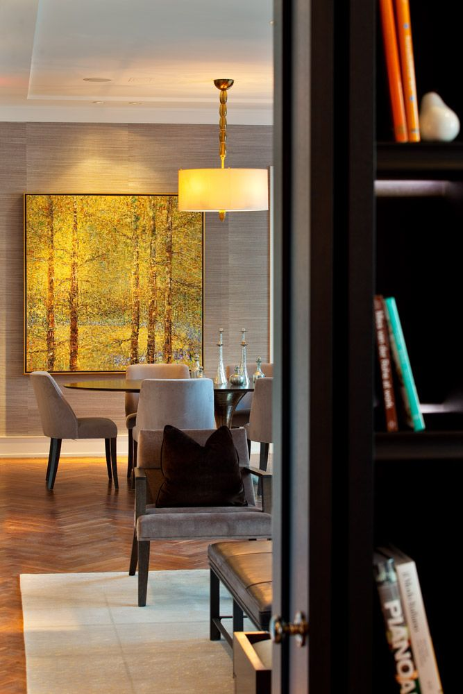The Residences At Ritz Carlton Toronto Interior Design By Munge Leung Art TorontoToronto Ontario CanadaOffice WallsCondo LivingDining RoomThe