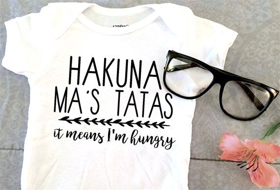 Hakuna Ma's Tatas Onesie from Lexi's Loft