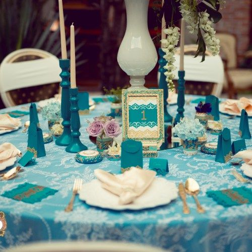 Precious Turquoise- an eclectic wedding collection, combining antique…