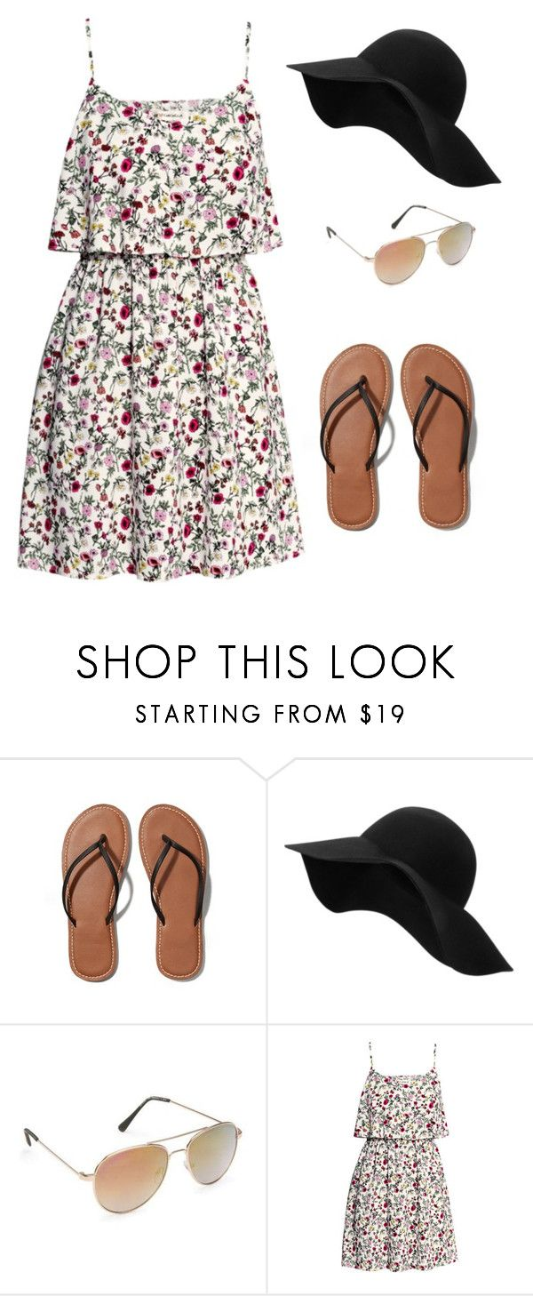 """""""Chilling by the Pool."""" by into-fashion ❤ liked on Polyvore featuring Abercrombie & Fitch, MANGO, Aéropostale, H&M, women's clothing, women, female, woman, misses and juniors"""