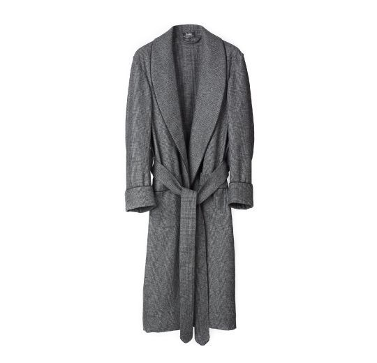 Glen Check Dressing Gown - Budd of Mayfair