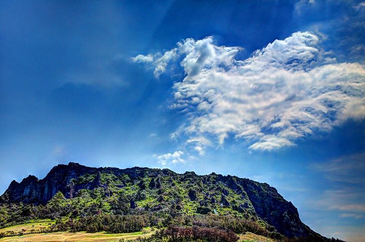 Sunrise Peak Sungsan Jeju Island