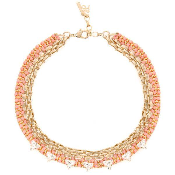 Aloha Necklace Gold & Coral | John & Pearl