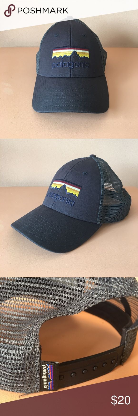 Patagonia mesh SnapBack hat cap Like new Patagonia SnapBack hat for sale. Work only couple times. Patagonia Accessories Hats