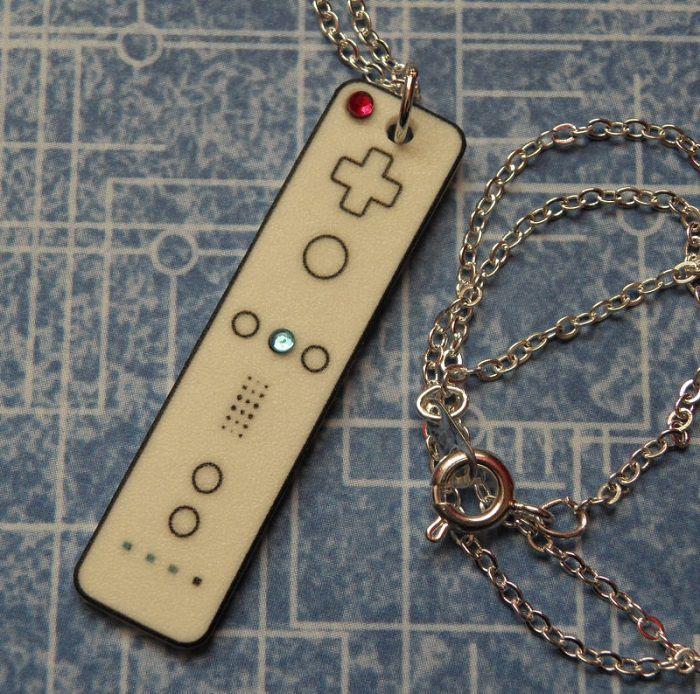 Nintendo Wii Controller Necklace