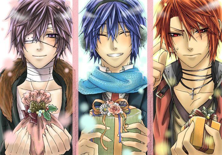 Taito, Kaito & Akaito | Vocaloid | Pinterest | Love, Kaito ...