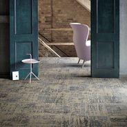 Vintage ook mogelijk met tapijttegels.