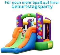 Hüpfburgen-Verleih bei Geburtstagsfee.de