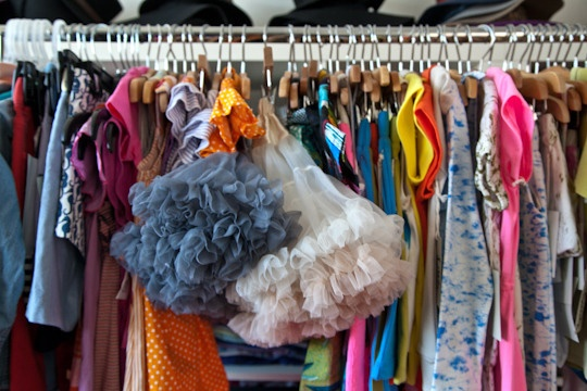 Tips for making spring cleaning projects a little easier! Definite/Potential/Questionable: Simple Sorting Trick For Closet Cleanouts @Apartment Therapy