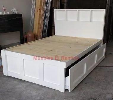 Las 25 mejores ideas sobre camas individuales de madera en for Sofa cama monterrey