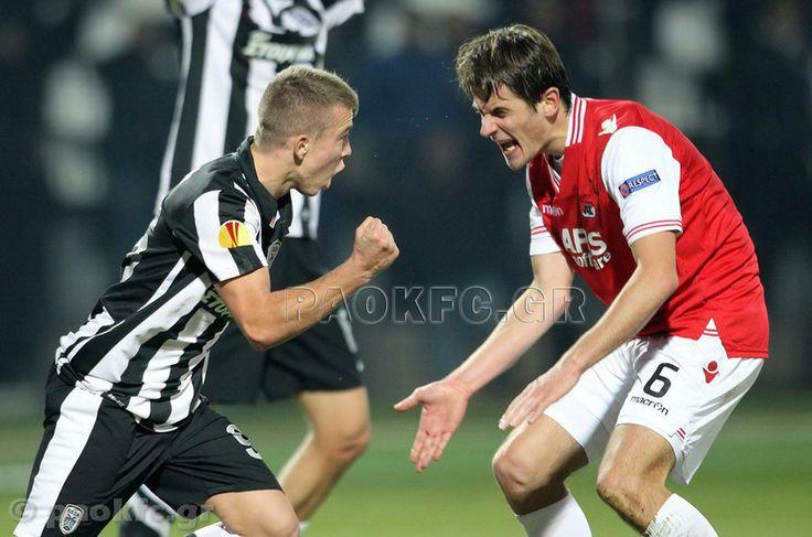 O Στέλιος Πόζογλου γράφει ιστορία και γίνεται ο νεότερος σκόρερ του ΠΑΟΚ στην Ευρώπη και τρίτος νεαρότερος στο Europa League.ΠΑΟΚ-Αλκμάρ 2-2