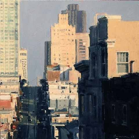 Urban cityscapes by Ben Aronson