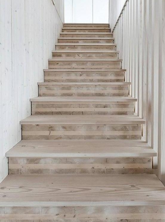 Bare boards + battens |= stairs