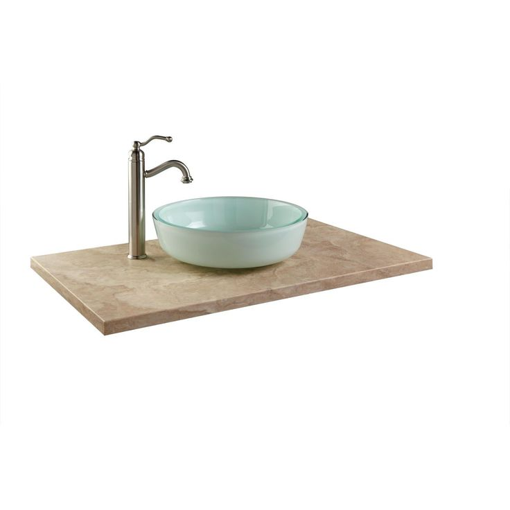 Photography Gallery Sites  x Beige Travertine Vessel Sink Vanity Top