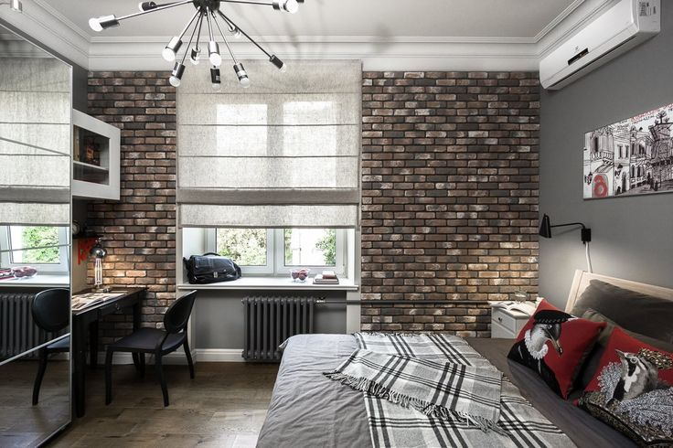 Квартира для молодой семьи скомиксом «Хранители» на стенах. Изображение № 15.