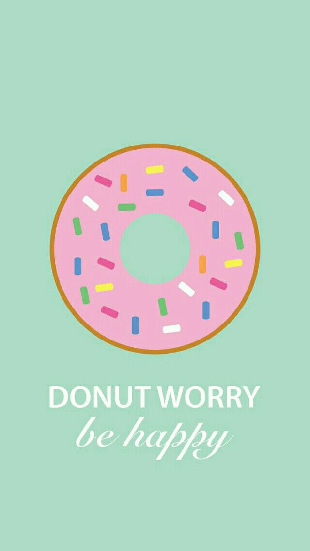 Donut worry be happy!
