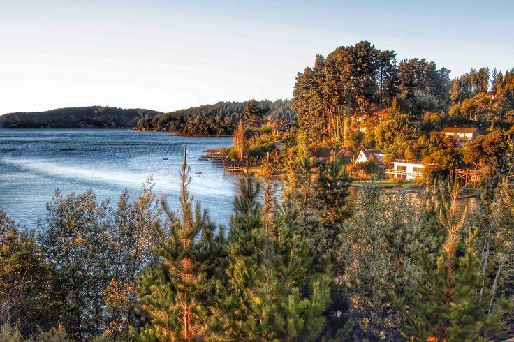 HDR Travel Pictures: Atardece en el lago