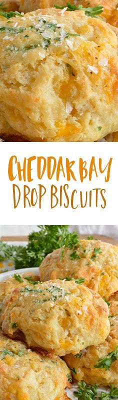 This recipe is inspired by your favorite Red Lobster biscuits with cheddar cheese, buttermilk, fresh parsley and Old Bay Seasoning. Perfect for a quick dinner side dish or holiday feast!