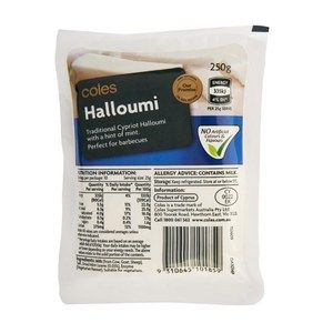 Cypriot Haloumi With Mint | Coles Online