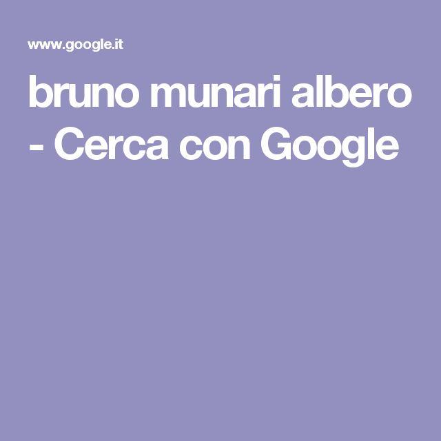 bruno munari albero - Cerca con Google