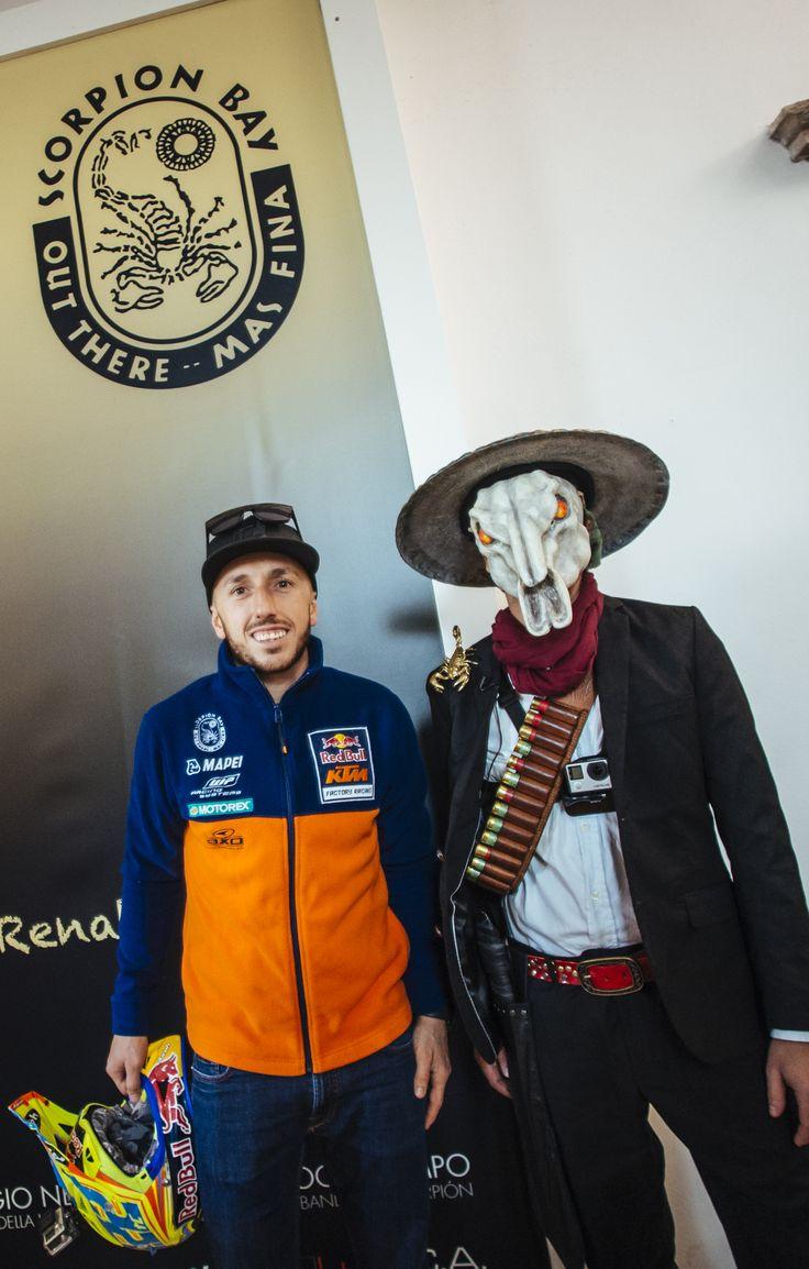 Antonio Cairoli e il Bandido Escorpion
