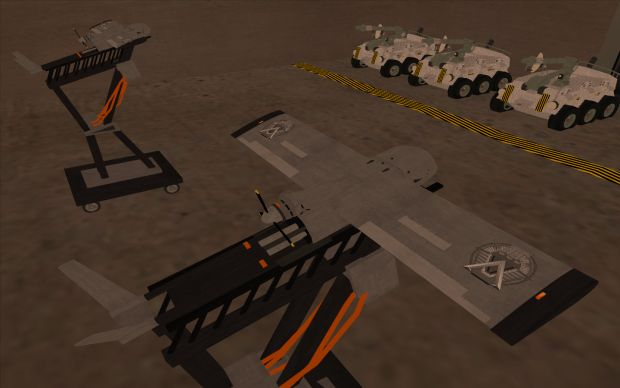 S.G.C. : UAVs (from Stargate Horizon of the Universe mod for GTA San Andreas)