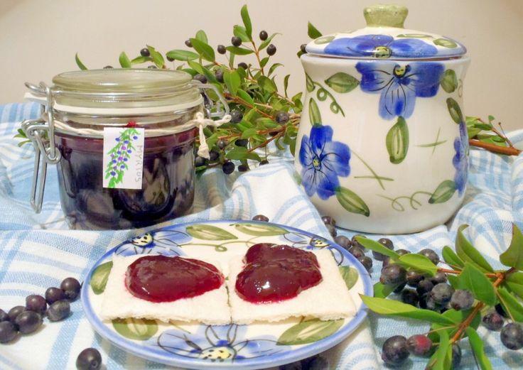 Marmellata di Mirto (Myrtus communis) on http://casafacilefelice.org