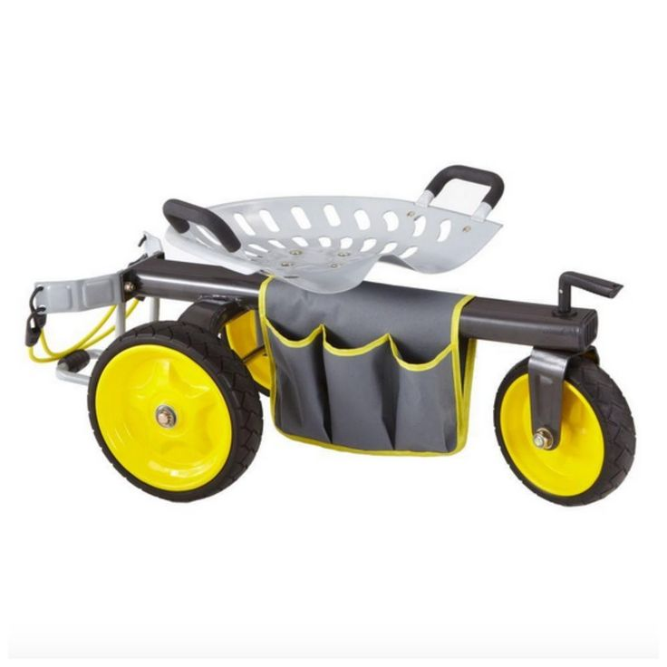 Garden Seat With Wheels