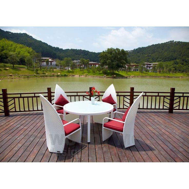 Machen sie ihre terrasse zur wohlfühloase. das ermöglichen lounge ...