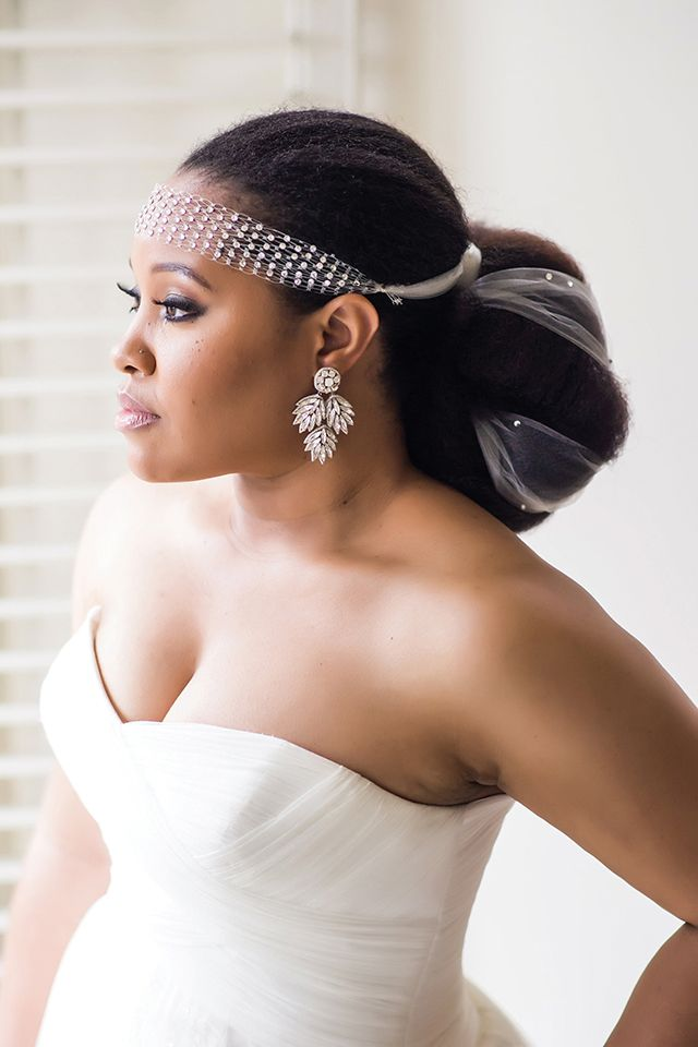 Wedding Hairstyle For Natural Hair Brides